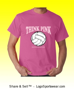 Unisex Think Pink T-Shirt Design Zoom